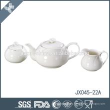 Цветочный дизайн небольшие мелкие керамические белые элегантные английские чайные наборы
