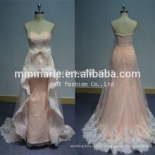 Свадебное платье для продажи онлайн развертки шлейф без рукавов иллюзия вернуться кружева ткань для свадебное платье продажа