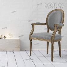 Античный французский Луи кресла современные / французский обеденный стул