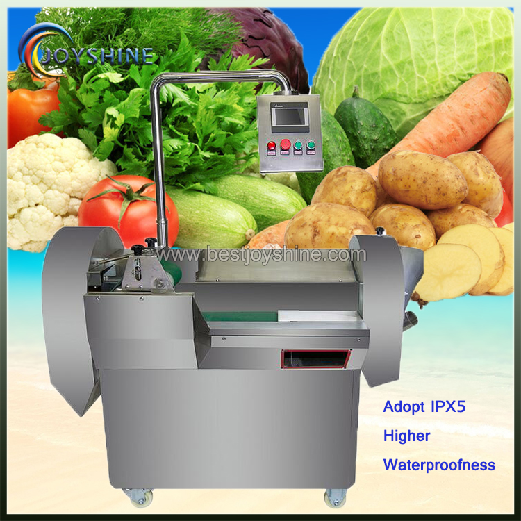 Stainless Steel CNC Vegetable Slicing Cutting Machine