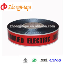 red underground detectable warning tape