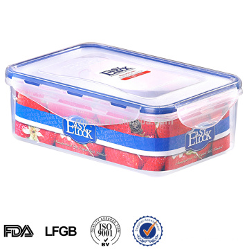 recipiente de alimento plástico do grau do silicone microondas armazenamento Take-Away