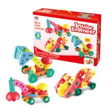 ABS пластик DIY строительных блоков автомобилей игрушка (H9227038)