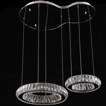 Nouvel éclairage de lustre en cristal simple
