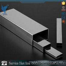 25*25mm 304 Rectangular Stainless Steel Pipe for Interior decoration