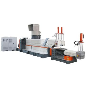 Máquina de fabricación de granuladoras de gránulos de reciclaje de película de efecto invernadero