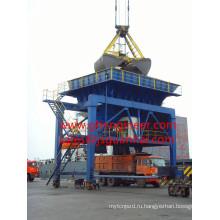 Пылезащитный бункер для погрузки и разгрузки сыпучих грузов
