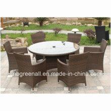 Leisure Rattan Outdoor Patio Dining Furniture for Garden