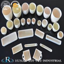 Высокая температура 99,7 глинозема тигле керамики
