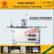 Machine extérieure multifonctionnelle ultrasonique de soudure d'Earloop de masque