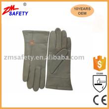 Top Quality Goatskin Leather Fashion Work Gloves
