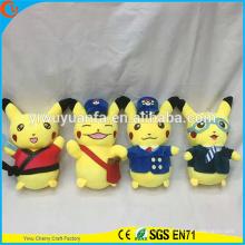 Hot Selling Novelty Design Stuffed Pokemon Go Plush Toy Pikachu Series Pocket Monsters