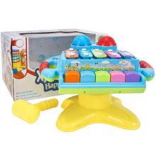 Presente Brinquedo Educativo Elétrico Harpa Music Toy Piano Brinquedo