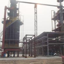 Planta de proceso de refinación de aceite de motor usado