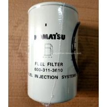 Топливный фильтр 600-319-3610 для экскаватора Komatsu PC300-8