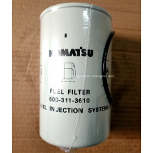 Fuel filter 600-319-3610 for Komatsu PC300-8 Excavator