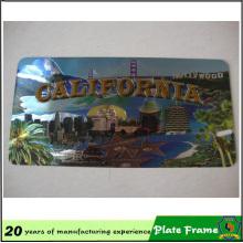 Moldura de placa de fibra de carbono de alta qualidade