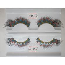 2016 hot design cheap three color false fashion bulk eyelashes