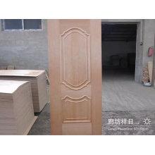 Sapele Veneer HDF Door Skin with New Designs