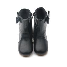 ОЕМ обувь для малышей резиновые кожаные детские ботинки дождя