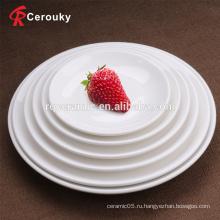 Hotel banquet посуда фарфоровая белая керамическая плита