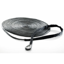 """1/2""""X125′-Stainless Thimble Assembled Winch Line/Winch Rope/Tow Rope/Offroad Line/Safety Rope"""
