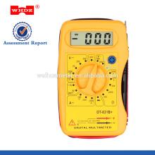Multímetro digital de bolsillo DT831B con prueba de batería