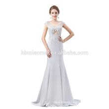 Wholesale luxury long mermaid beaded evening dress for wedding