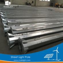 DELIGHT Telescopic Aluminum Solar Street Light Pole