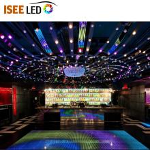 Mini luzes de discoteca corda evento decoração do teto
