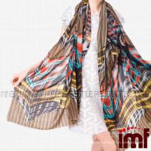 Мода Шарф 2015 Цифровая печать Кашемир