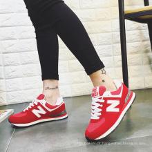 Sapatas Running novas das mulheres, sapatas do esporte da forma, sapatas usadas do esporte
