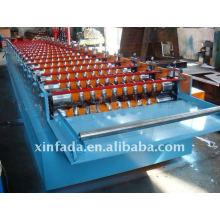 Машина для производства прецизионных гофрированных плит