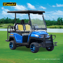 Excar 4 Seater Electric Golf Car Trojan battery electric golf buggy cart