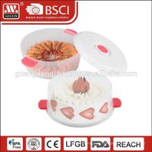 Wiederverwendbare benutzerdefinierte Offsetdruck/Stanzen Kunststoff Kuchen Container