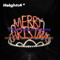 Crystal Rhinestone MERRY CHRISTMAS Crowns
