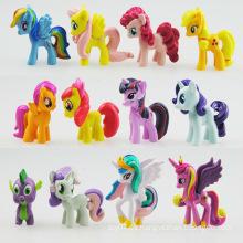 Princesa Pony Acción Pequeñas figuras con Ce