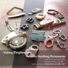 Peças da bolsa de acessórios decorativos do fechamento do caso para acessórios do saco