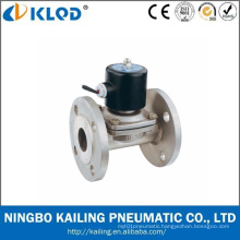 Stainless Steel Solenoid Valves with Flange Connection