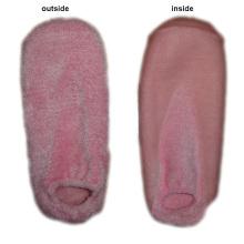 Hombres mujeres Gel SPA calcetines con poliéster (GS-06)