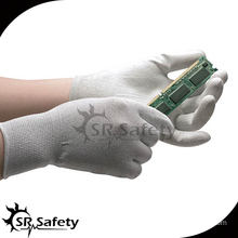 SRSAFETY 13G PU Coated ESD safety working gloves