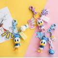 Donald And Daisy Duck Keychain