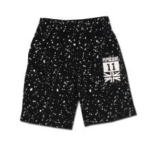 Спортивные повседневные шорты для печати Print Black Cotton