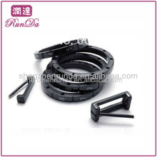 Fábrica de fornecimento de aço inoxidável mens anel anel destacável