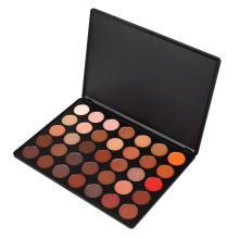 Sombra de ojos orgánica personalizada del maquillaje de los pigmentos del brillo de 35 colores
