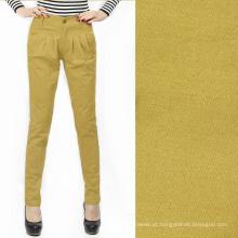 106gsm 60 * 60 160x120 poplin de algodão homens personalizados calças mulher distribuidores de tecido tecido de algodão azeitona