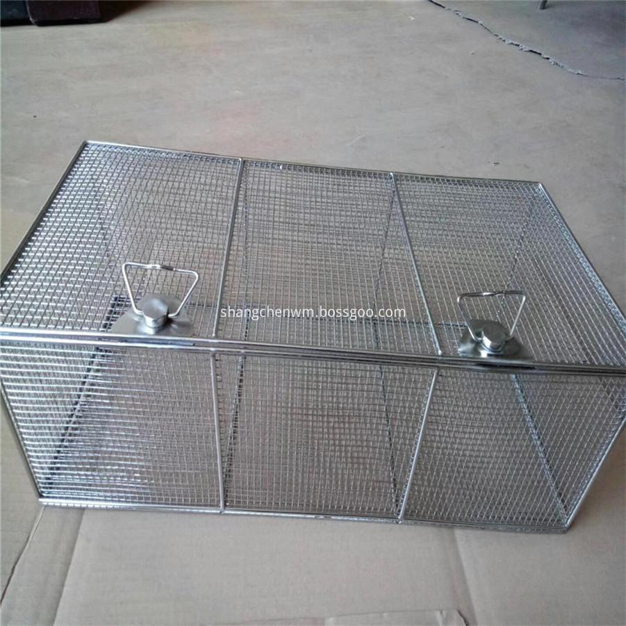 Wire Mesh Storage Basket
