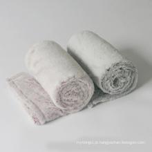 Cobertor de lã polar de poliéster descartável para companhias aéreas