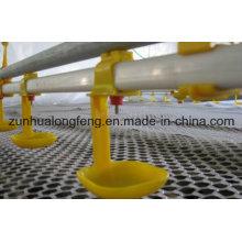 Landwirtschaftliche Ausrüstungen Automatische Geflügel Trinklinie / Nippel Trinker für Hühner