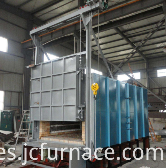 Trolley quenching furnace